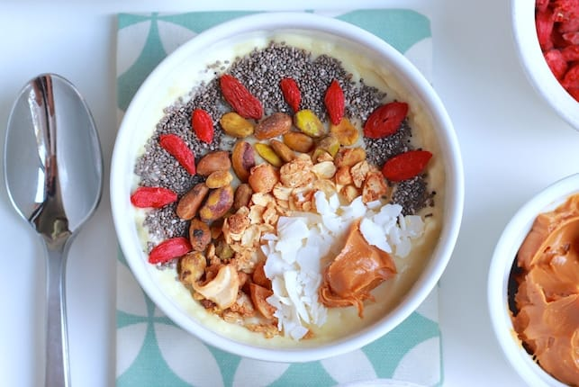 Frosted Pineapple Smoothie Bowls 8