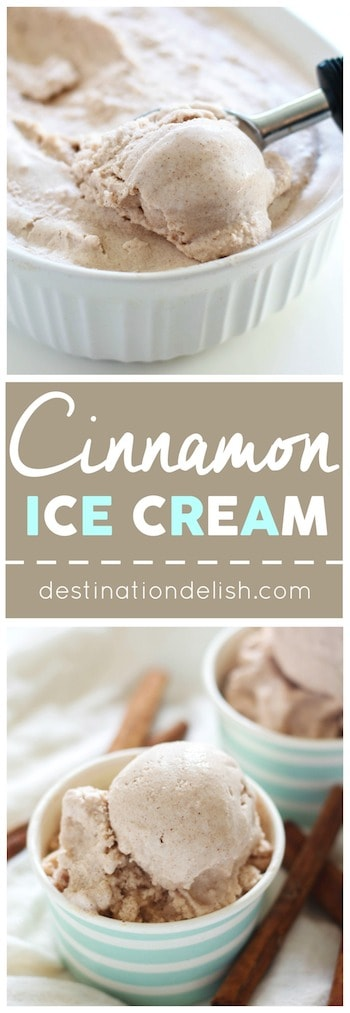 Cinnamon Ice Cream | Destination Delish
